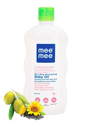 Mee Mee Fruit Extracts Baby Oil, White, 500ml