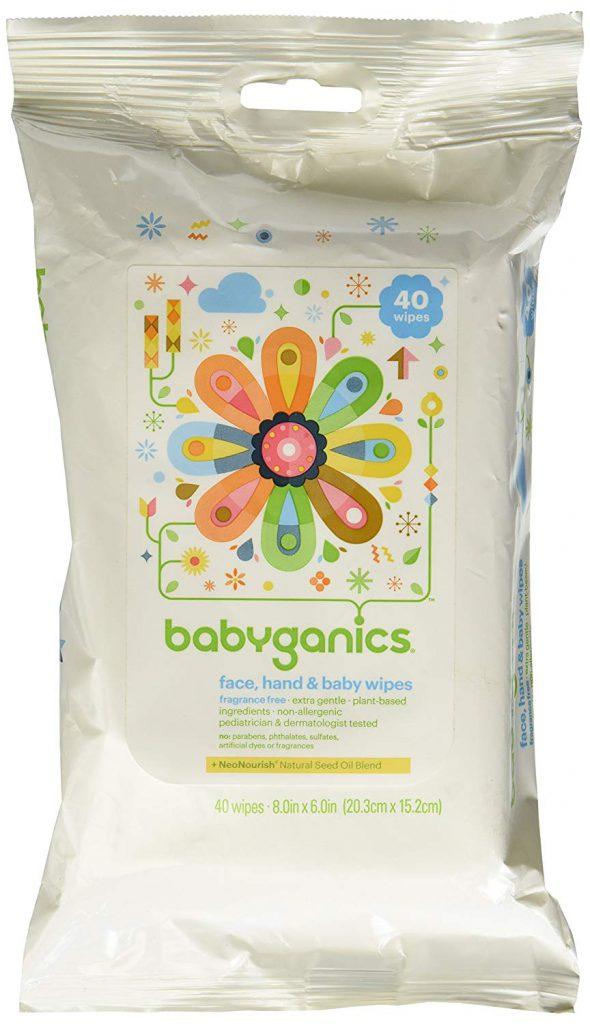 BabyGanics Baby Wipes, Extra Gentle Face & Hands
