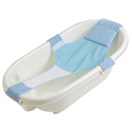 Futaba Adjustable Baby Bath Net Safety Seat Support - Blue