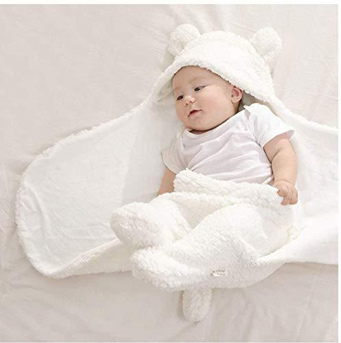 BRANDONN 3 in 1 Baby Blanket/Safety/Sleeping Bag , Off-White