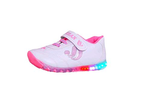 Fashion shoes Baby Boy's and Girl's Baby Pink Synthetic Leather Light Baby Shoes -6-12 Months