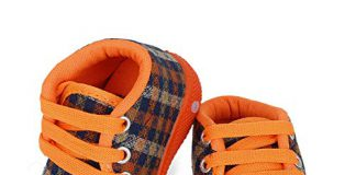 SMARTOTS Party wear & Regular Shoes for 10 to 12 Months Baby Orange