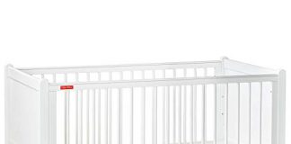 Fisher-Price Georgia Baby Crib Cum Toddler Bed (with Mattress, White)