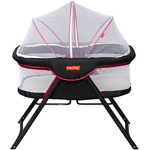 Fisher-Price Shiled Baby Cot Cum Bassinet