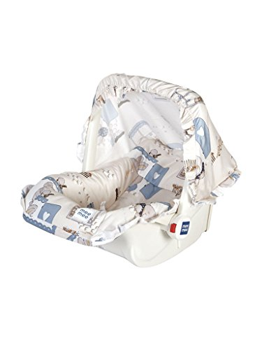 Mee Mee 5 in 1 Baby Cozy Carry Cot Cum Rocker (Beige)