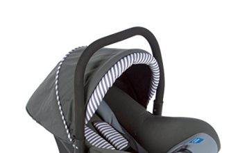Mee Mee Baby Car Seat Cum Carry Cot with Thick Cushioned Seat and Head Support (Dark Grey)