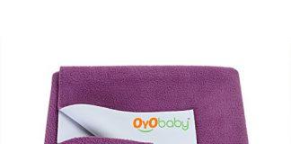 OYO BABY Waterproof Bed Protector Dry Sheet -X-Large (Rani Pink)
