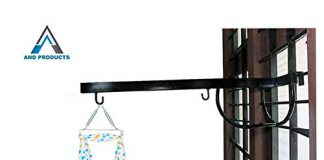 A AND PRODUCTS Baby Cradle Metal Hanger(Black)