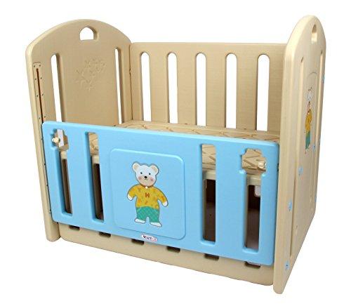 Babycenterindia Baby Bunny Cot (Blue)