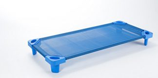 Babycenterindia Toddler Cots Without Cot Sheets (Blue)