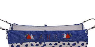 Dazzle Born Baby khoya Cradle Cloth Baby zoli with Mosquito net (Dark Blue)