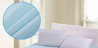 Rite Clique Waterproof Double Bed Mattress Protector Sheet with Elastic Straps i