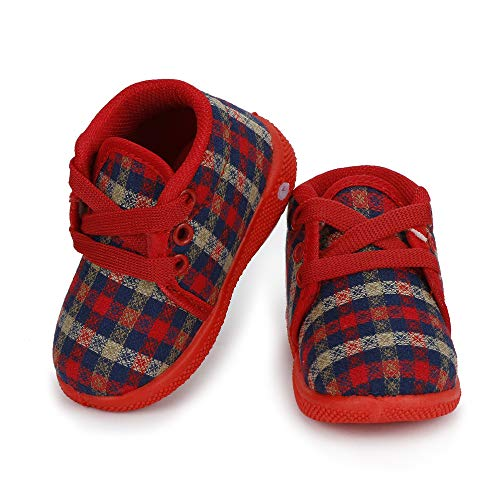 SMARTOTS Party wear & Regular Shoes for 8 to 10 Months Baby Red