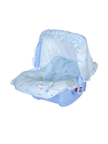 Mee Mee 5 in 1 Baby Cozy Carry Cot Cum Rocker (Blue)