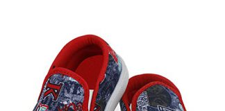 SMARTOTS Causal Shoes Resin Slip On Red for Kids